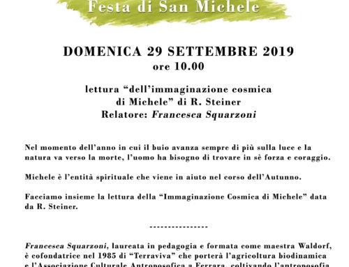 ASSOCIAZIONE R. STEINER – Festa di San Michele