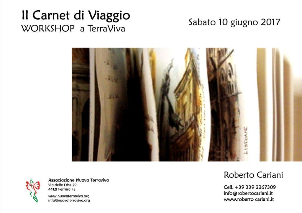 Il Carnet di Viaggio - WORKSHOP  a TerraViva @ Associazione Nuova Terraviva | Ferrara | Emilia-Romagna | Italia