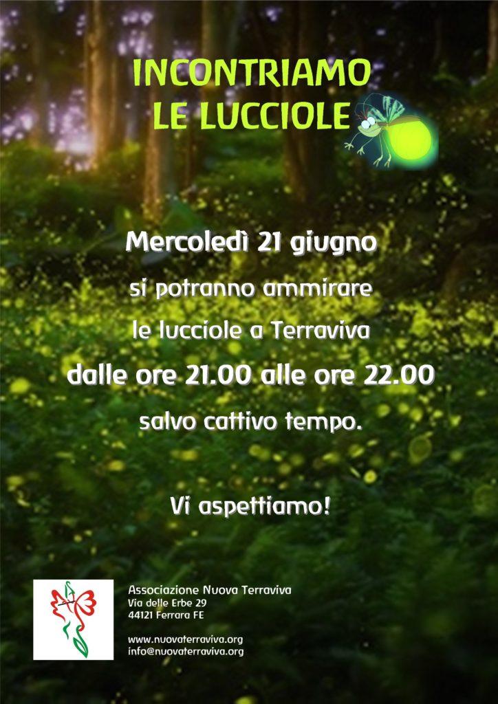 Incontriamo le lucciole @ Associazione Nuova Terraviva | Ferrara | Emilia-Romagna | Italia