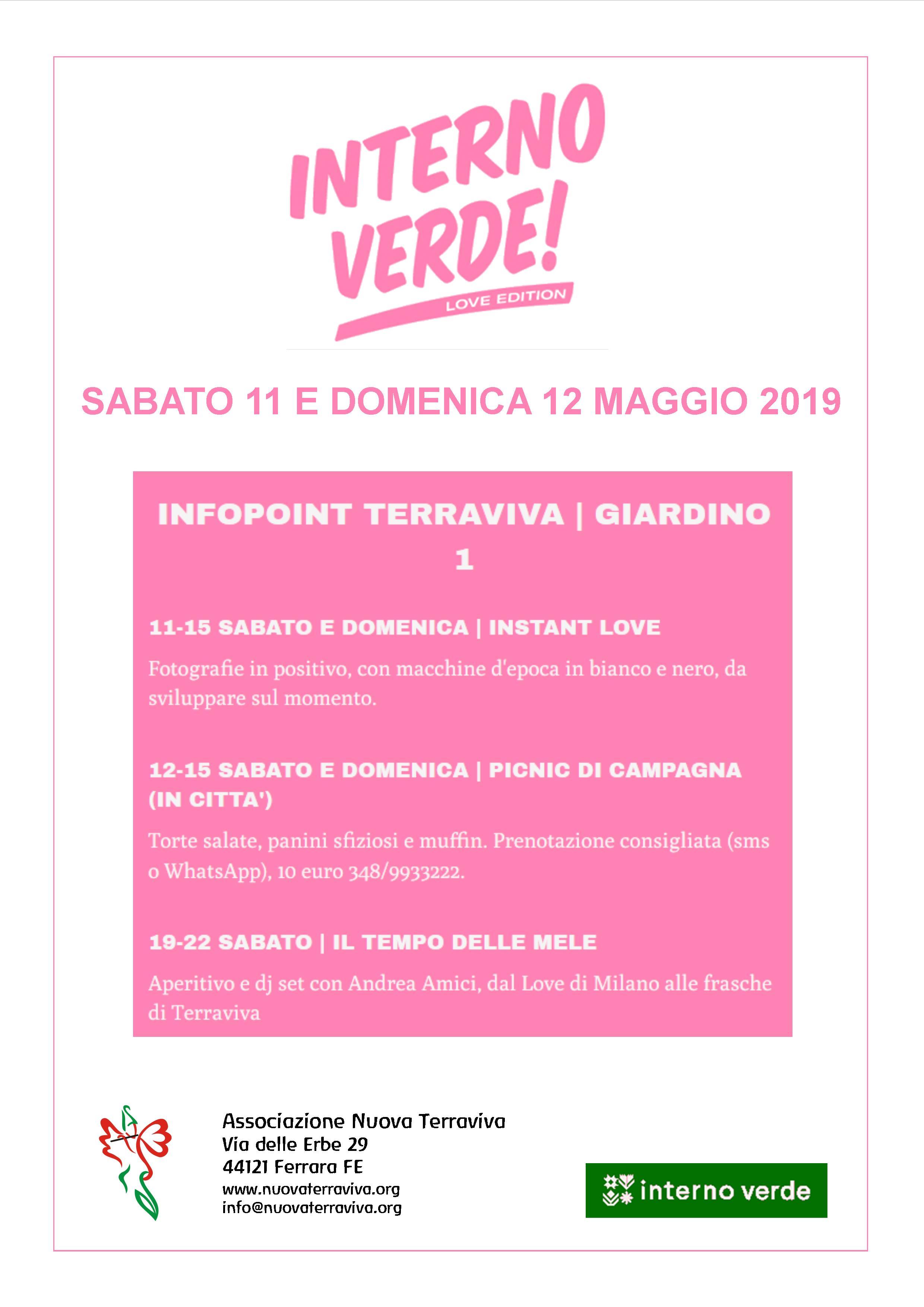 Interno Verde @ Associazione Nuova Terraviva | Ferrara | Emilia-Romagna | Italia