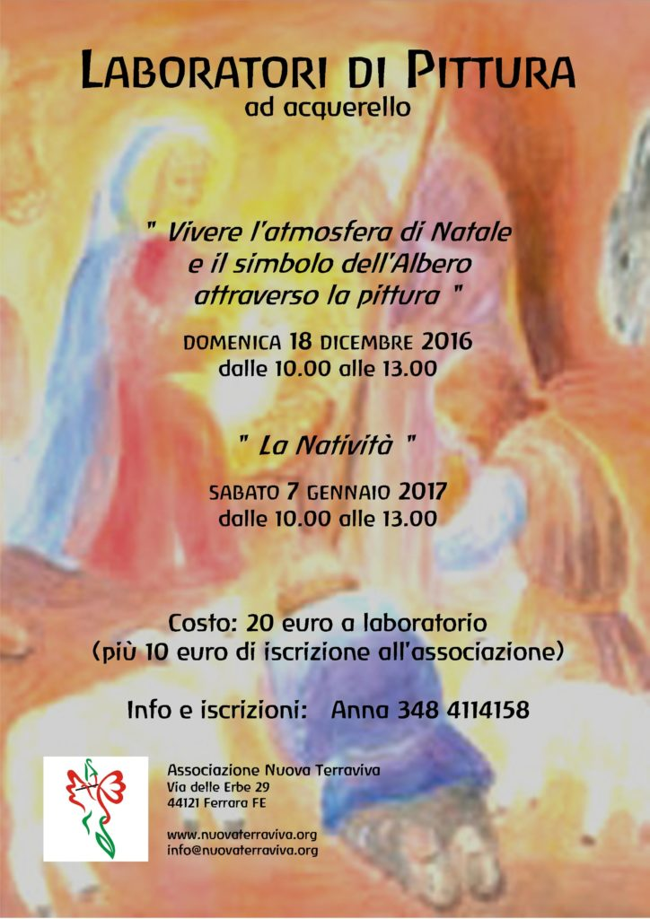 Laboratori di Pittura @ Associazione Nuova Terraviva | Ferrara | Emilia-Romagna | Italia