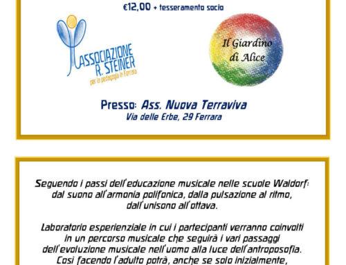 Laboratorio musicale per adulti presso Terraviva