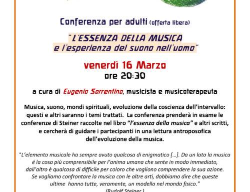 Conferenza: L'essenza della musica