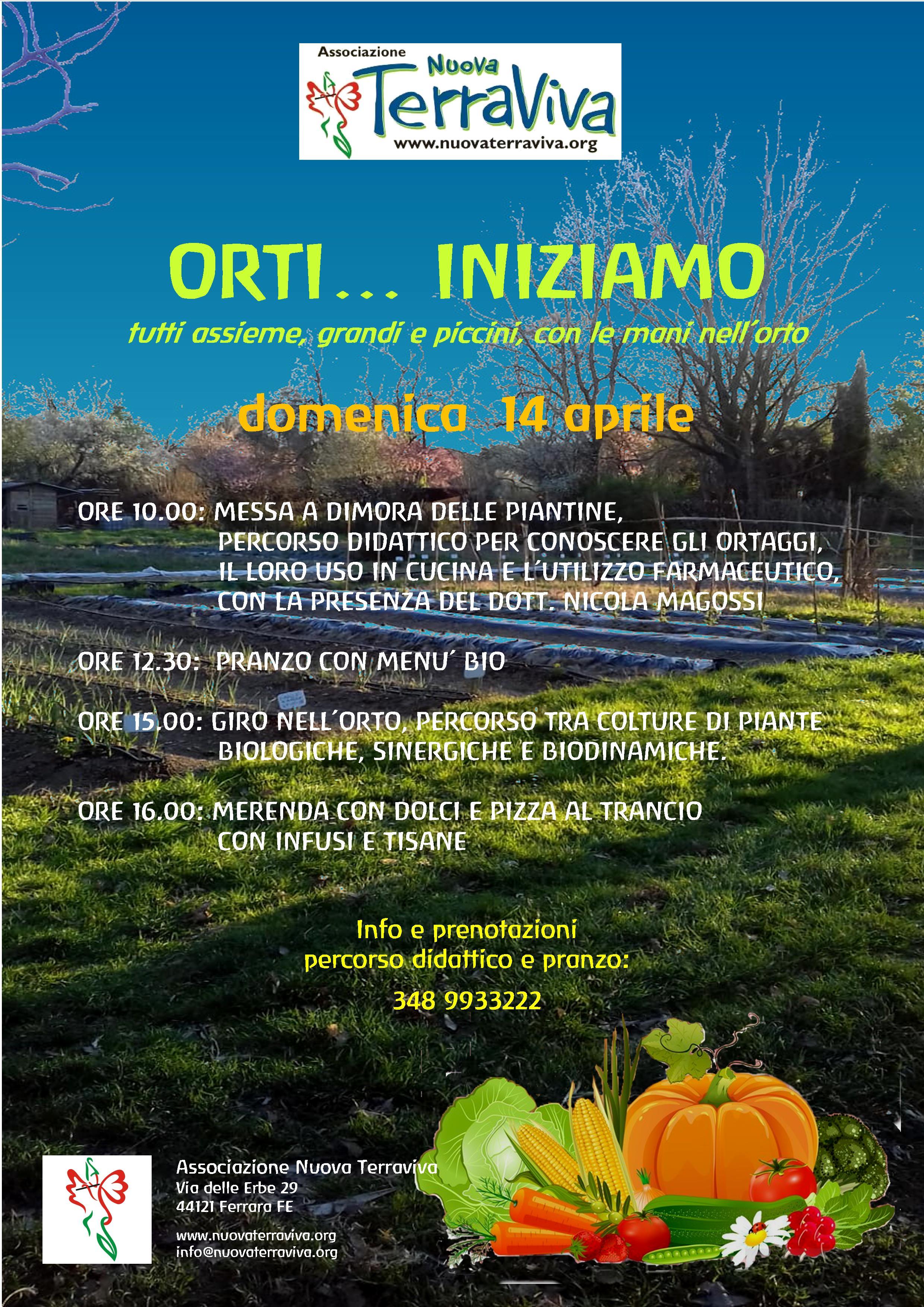 Orti... iniziamo @ Associazione Nuova Terraviva | Ferrara | Emilia-Romagna | Italia