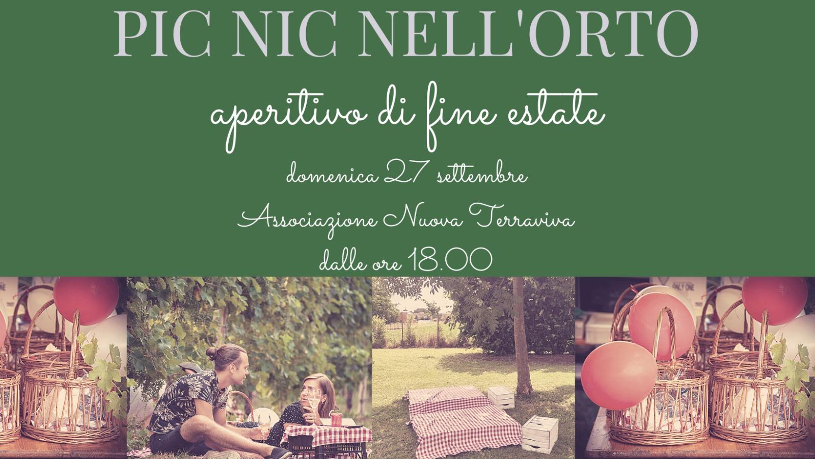 PIC NIC NELL'ORTO @ Associazione Nuova Terraviva | Ferrara | Emilia-Romagna | Italia