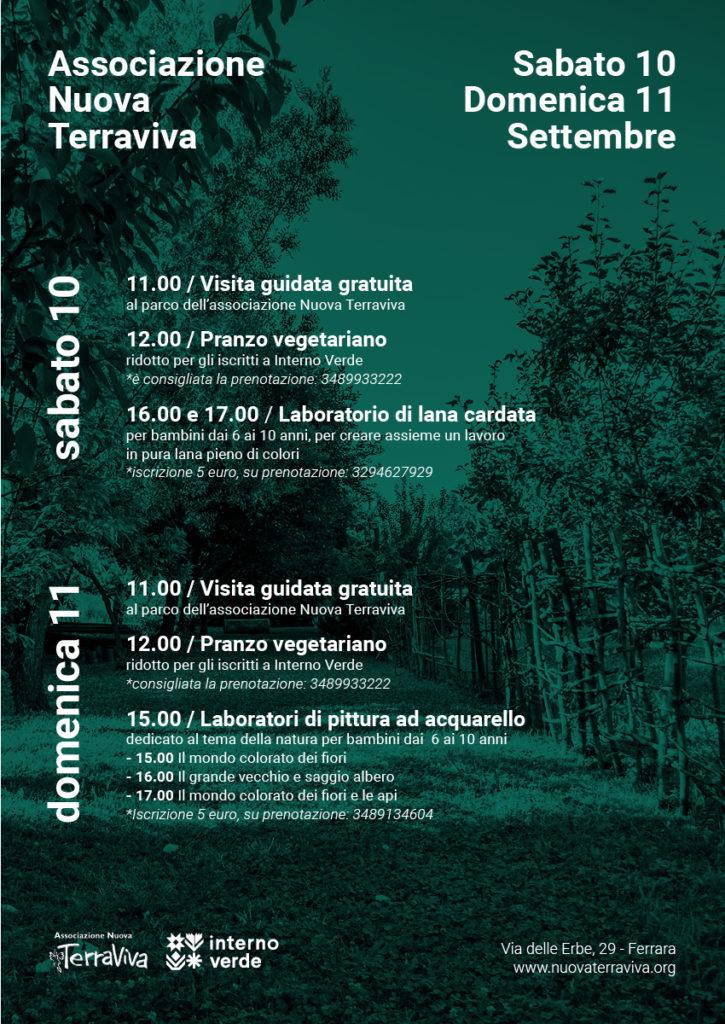 Interno Verde @ NUOVA TERRAVIVA @ Associazione Nuova Terraviva | Ferrara | Emilia-Romagna | Italia